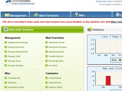 Omnistar Help Desk Software 8.2 Screenshot