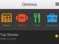 Omnivo: The voice-enabled PA for news, sports, restaurants, and local businesses 1.0.1 Screenshot
