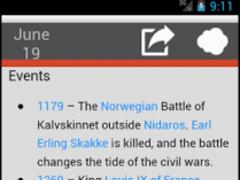 On This Day - Wikipedia 1.2.1 Screenshot