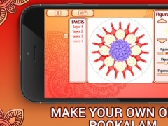 Onam Pookalam Generator 1.0 Screenshot