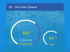 One Click Cleaner 1.0 Screenshot