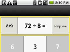 one digit division 1.0.1 Screenshot