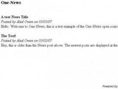 One-News 2 Screenshot