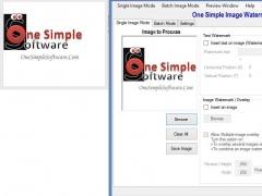 One simple image watermark 20.14.0.0 Screenshot
