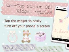 One-Tap ScreenOff Widget girls 1.2 Screenshot