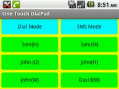One Touch DialPad Widget 2.0 Screenshot