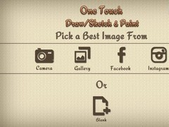 One Touch Draw/sketch & Paint 2.1 Screenshot