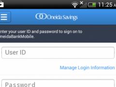 Oneida Savings Bank Mobile 3.3.8.1404 Screenshot