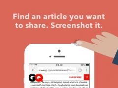 OneShot for Screenshots 1.3 Screenshot
