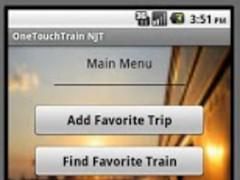OneTouchTrain - NJT 2.0 Screenshot