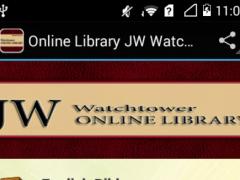 Online Library JW Watchtower 1.0 Screenshot