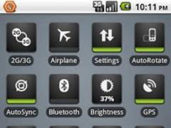 OnOff Skin: PowerControl Green 1.1.0 Screenshot