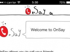 OnSay for Twitter 1.0.8 Screenshot