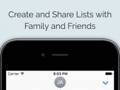 OnTheList • List Sharing and Collaboration 1.0.1 Screenshot
