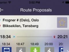 Ontimely-Oslo, norway RuterReise reiseplanlegger,ruter.no rutetider, sanntid planlegg, reise sok i kartet 1.1 Screenshot