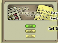 Ooo Calc Order Of Operations Calculator Free Download