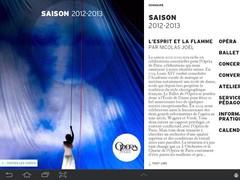 Opéra de Paris, Saison 12/13 1.0 Screenshot