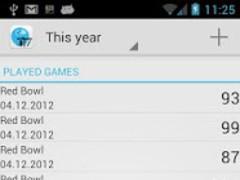 Open Bowling Score Tracker 1.4 Screenshot