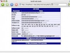 Open Site Builder: Web developer tools 3.6 Screenshot