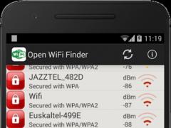 Open WiFi Finder 2.5 Screenshot