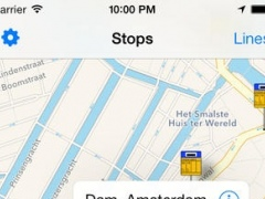 Openbaar Vervoer: real time Dutch public transport status 2.1.1 Screenshot
