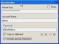 OpenSimSim 1.0 Screenshot