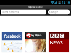 Opera Mobile Classic  Screenshot