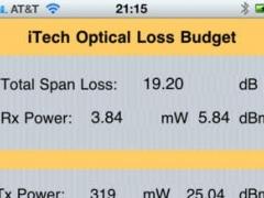 Optical Loss Budget Tool 1.0 Screenshot