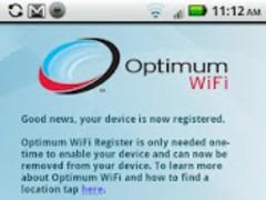Optimum WiFi Register 1.0 Screenshot