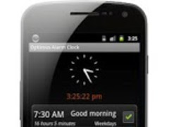 Optimus Alarm Clock Ad Free 1.3.1 Screenshot