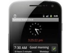 Optimus Alarm Clock 1.3.1 Screenshot