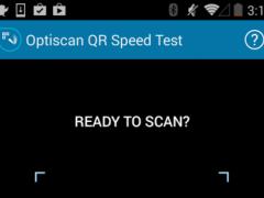 Optiscan QR Speed Test 1.0.55 Screenshot