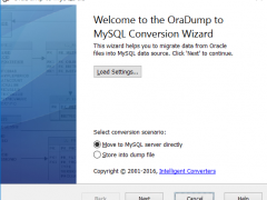 OraDump-to-MySQL 5.5 Screenshot