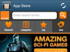 Orange App Store 1.0 Screenshot
