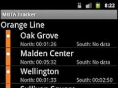 Orange Line Live MBTA Tracker 1.1 Screenshot