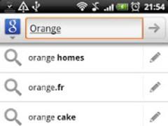 Orange Slate KB Theme - Donate 1.0 Screenshot