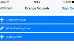 Orange Squash for FogBugz 1.0 Screenshot