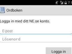 Ordboken (Swedish dictionary) 3.5 Screenshot