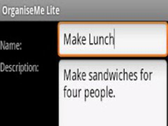 OrganiseMe Lite 4.0 Screenshot
