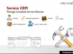Organizer Professional : Service CRM 2015R Screenshot