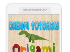 Origami Tutorials 0.0.2 Screenshot