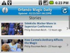 Orlando Magic Daily 2.8 Screenshot