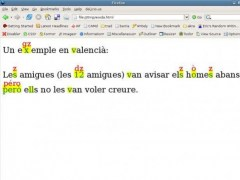 Orthoepikon: a reading-aloud assistant 0.9 Screenshot
