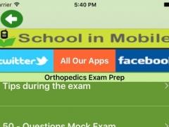 Orthopedics Exam Prep 1.0 Screenshot