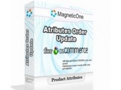 osCommerce Attributes Order Update 3.0.0 Screenshot