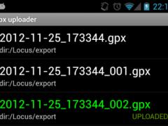 OsmGpxUploader 1.5.3 Screenshot