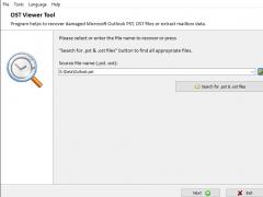 OST Viewer Tool 3.3.0 Screenshot