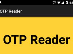 OTP Reader 1.1 Screenshot