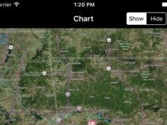 Ouachita National Forest – GPS Offline Map Navigator 1.0 Screenshot