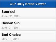 Our Daily Bread Feed Viewer 0.0.4 Screenshot